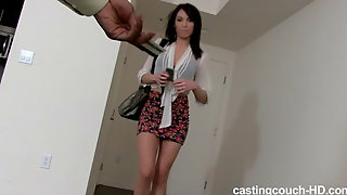 Gabby Is An Amateur Cock Sucker