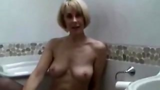 Milf Fingering Pussy In Stockings