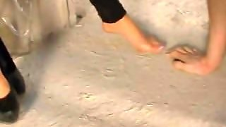 Dirty Russian Foot Worship
