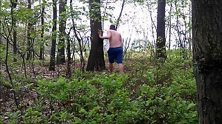Public Nudity In The Woods