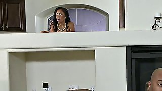 Cheating Makes The Black Housewife Horny