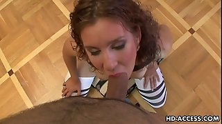 Crazy And Sexy Chick Giving Unbelievable Pov Blowjob