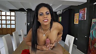 Big Ass Wench Rides A Dick Reverse Cowgirl