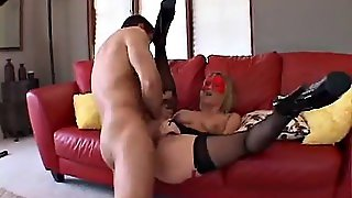 Hungry Cougars In Stockings Get Anal Creampies In Foursome
