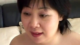 Japanese Mom Craves Cum