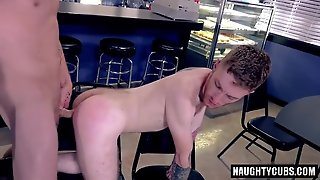 Tattoo Gay Domination With Facial