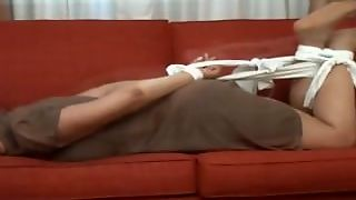 Hot Milf Tickled In Nylons