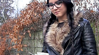 Emo Chick Has Sex In The Woods