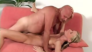 Hd, Babes, Couple, Natural Tits, Clothed Sex, Blowjob, Hardcore, Old Vs Young, Blondes, Bra