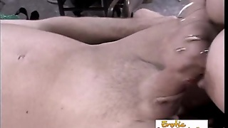 Bald Slave Fisted By A Dominant Female