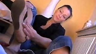 Mature Shoejob Handjob