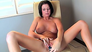 When Delicious Loni Evans Wants To Get Off, This Is What She Does. Her Pussy Needs A Long Blue Dildo So She Can Reach An Intense Orgasm As Soon As Possible.