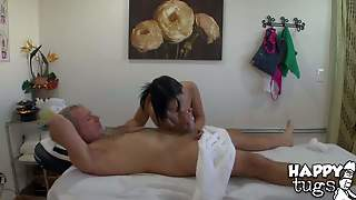 Asia Zo Knows How To Give Pleasure. Middle Aged Man
