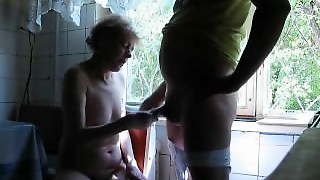 Compliant Neighbour Blowjob