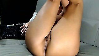 Webcam Girl Foot Fetish Show