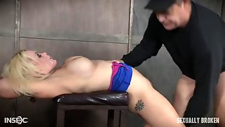 Rope Bound Submissive Fucked Roughly