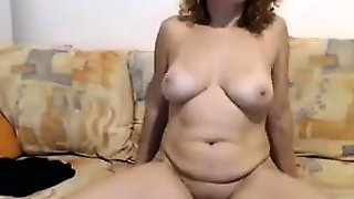 Redhead Mature On Webcam