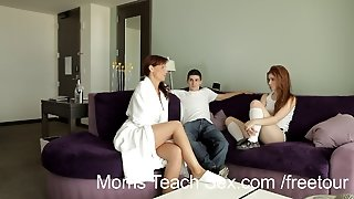 Moms Teach Sex - Redhead Teen Gets Sex Lesson From Stepmom