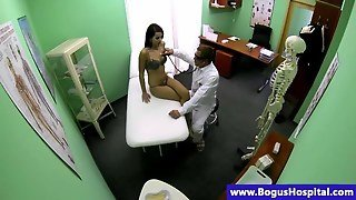 Medical Patient Fingerfucked By Her Doctor