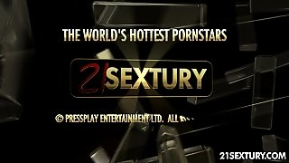 Doggy Style, 21Sextury Com, Natural Tits, Riding, Cumshot, Ass Pounding, Big Dick, Threesome, Blowjob, Cock Sucking, Anal