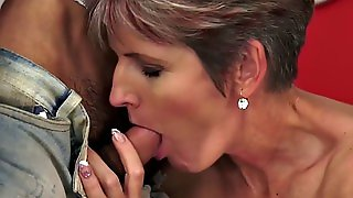 Assfucked Cougar Mouthful