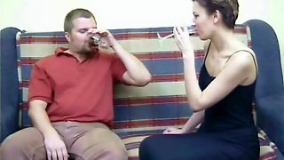 Drugged Wine Turns Him Into Bound Sub