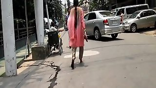 Bangladeshi Woman Walking