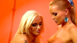 Silvia Saint Displays Her Assets While Getting Tongue Fucked By Lesbian Stacy Silver