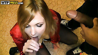 Busty Double, Panties Job, S E X Y, Busty Blonde Fuck, Sexy Mouth, Licking His Balls, Heels In Mouth, Blow High Heels