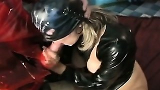 Masked Blonde May Be Hiding Her Face, But Still Gets It Fucked And Then Gets Ass Fucked