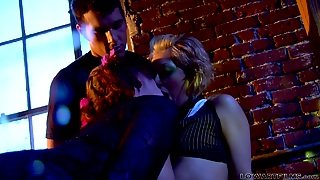 Lesbians Playing Dirty With A Cock