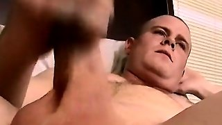 Gay Orgy A Thick Straight Cum Load