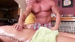 Straight Guy Seduced By Gay Masseurs Skillful Touch