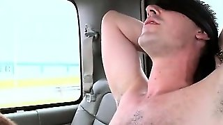 Teen Guy Riding The Sex Bus Gets Cock Blown By Horny Gay