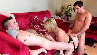 Europe Mature - Amy (52) - Group Sex With Mature!