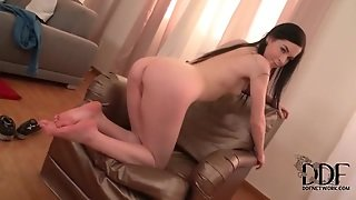 Ass Tease With Solo Teen Brunette