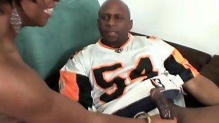 Prince Yahshua And Imani Rose Football Jersey