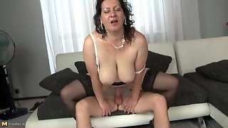 Bbw Sucks A Big Cock That Fucks Her From Behind