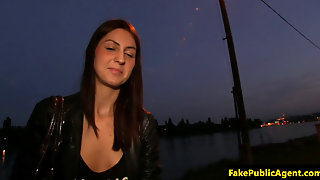 Pulled Euro Amateur Pussyravaged By Agent