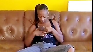 Hot And Sweet Ebony Rubbing Solo