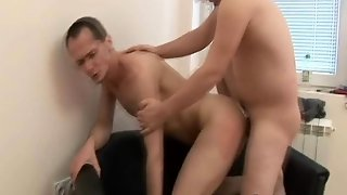 Gay Boss Fucked In The Office