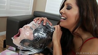Horny Sexy Milf Francesca Le And Her Feverish Buddy Give Hard Core Sex Lesson To Naughty Sweet Gf