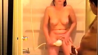 Jacking Off While The Wife Watches