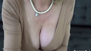 Unfaithful English Milf Lady Sonia Exposes Her Enormous