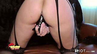 Kinky Dude Fucks Hard Slutty Chick In Stockings Charlize Tinkerbell