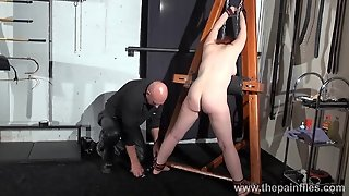 Young Redhead Slavegirl Vickys Dungeon