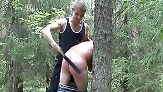 Tormenting Spanking For Cute Twink