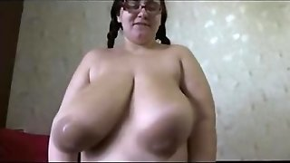 Mature Redhead Huge Boobs Milking