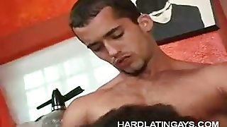 Gay Latinos Exchanging Blowjobs