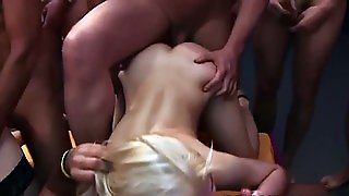 Group Banged Amateurs